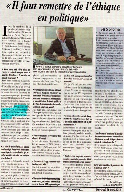 Jeandon La Gazette